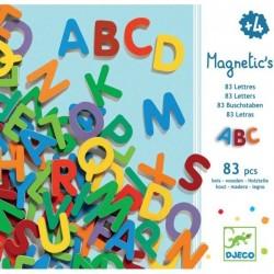 83 Petites Lettres Magnétiques - Djeco Djeco