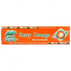 Natural Toothpaste Orange Green Beaver