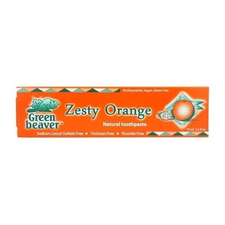 Dentifrice Naturel Orange Green Beaver