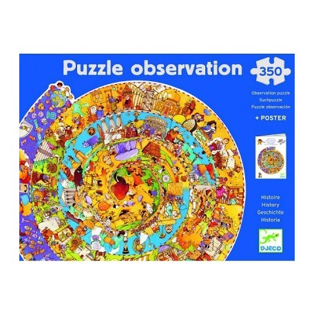 Puzzle Observation Djeco (350 pieces)