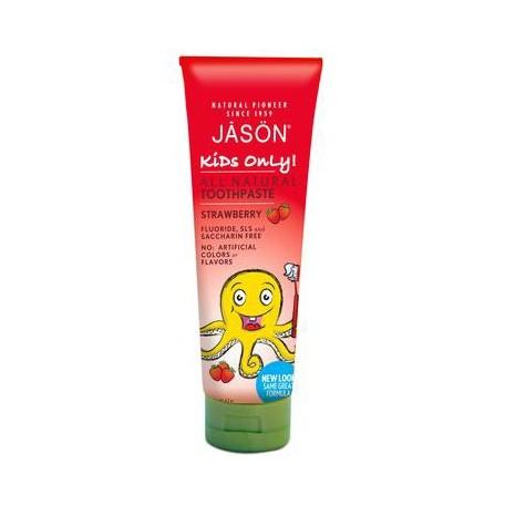 Dentifrice Naturel Arôme Fraise - Jason Jason
