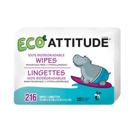 Biodegradable Wipes Attitude