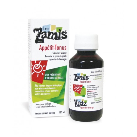 Appetite Energy syrup -  Les Zamis