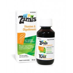 Sirop Vitamines & Oligoéléments - Les Zamis Les Zamis