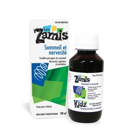 Kidz Sleep disorders & Nervousness syrup - Les Zamis