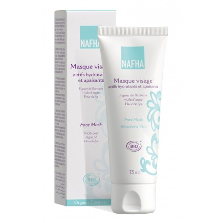 Moisturizing and Soothing Organic Face Mask