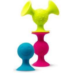 Ventouses pour bébé - Pip Squigz - Fat Brain Toys Fat Brain Toy