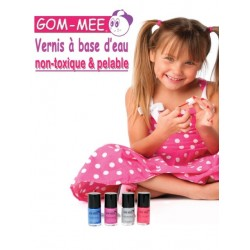 Vernis à Ongles Non Toxique - Gom Mee