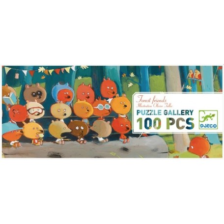 Puzzle Gallery 100 pieces, Djeco
