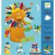 Crée avec des stickers Animaux, Djeco Djeco