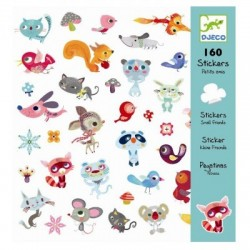 160 stickers animals friends, Djeco