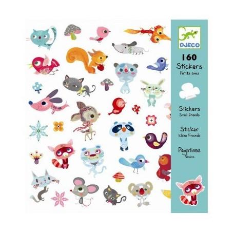 160 stickers Petits amis - Djeco Djeco