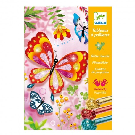 Glitter Boards Papillons - Djeco