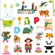 Over 1000 Stickers for tiny tots, Djeco