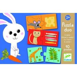 Puzzle Duo Habitat, Djeco