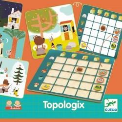 Topologix, jeu de localisation - Djeco Djeco