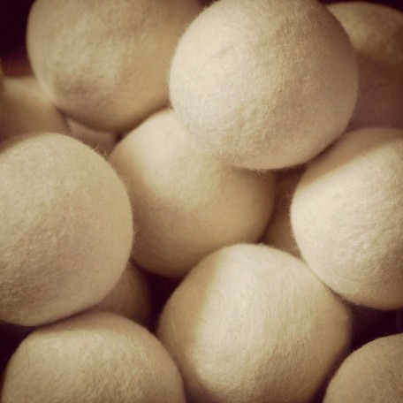 Pure Wool Dryer Balls - Moss Creek Wool Works