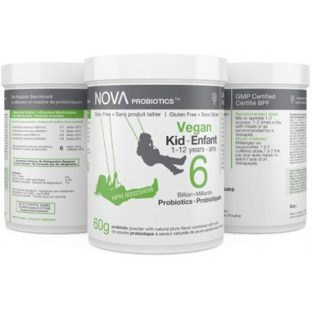 Probiotics Vegan Kid - NOVA