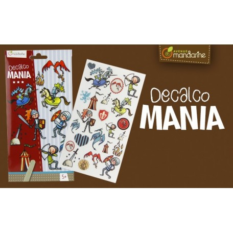 Decalco Mania - Avenue Mandarine - Knights
