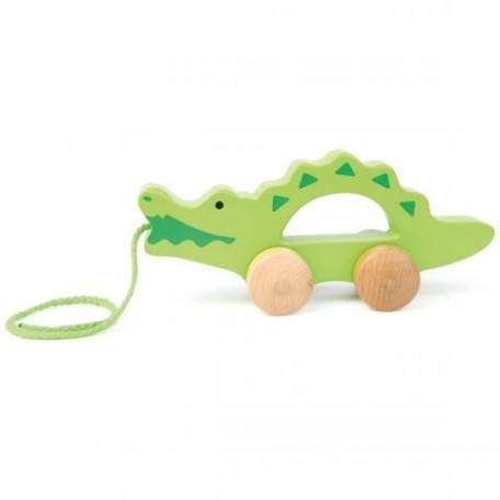 Crocodile Push and pull - Hape