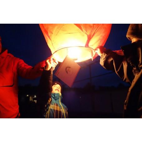 Lanterne ''Cher Père Noël'' - Nouwee -