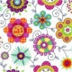 Pillow Cover for Adults - Nneka - Field flowers