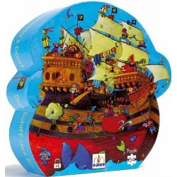 Barbarossa's Boat Puzzle 54 pieces - Djeco - Box