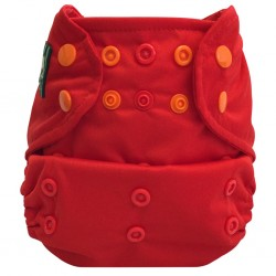 Pocket Cloth Diaper - Bummis - Red