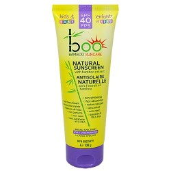 Natural Sunscreen Kids & Baby FPS 40 - boo Bamboo
