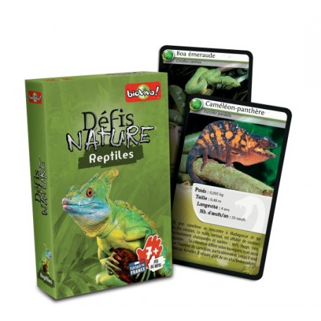 Défis Nature Reptiles - Bioviva - Game