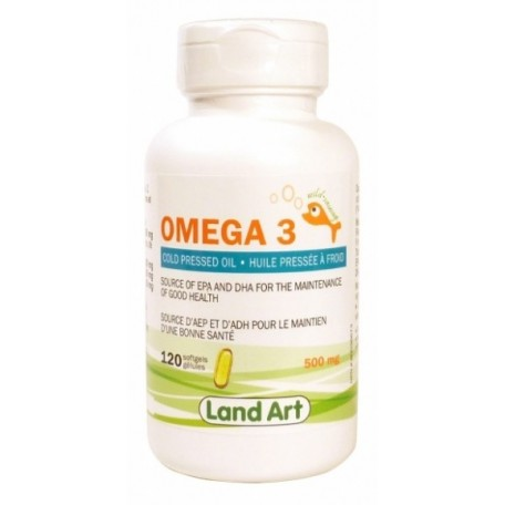 Oméga 3 500 mg - Land Art Land Art