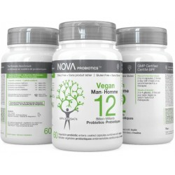 Probiotics Vegan Man - NOVA