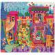 Puzzle Silhouette Château Féérique 54 morceaux - Djeco Djeco