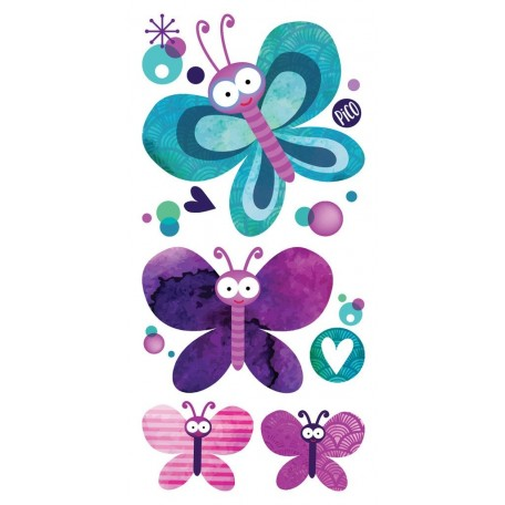 Temporary Tattoo Pretty Butterflies - Pico