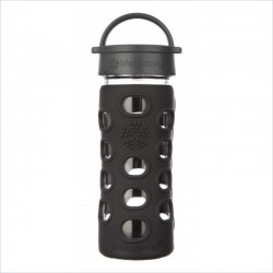 Glass Bottle 12 oz - Life Factory - Black