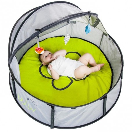 Travel bed and play tent - Nido Bbluv - Baby have fun alone calmy
