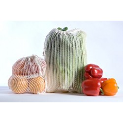3 large reusable bags for fruits and vegetables - Steward Bags - An easier grocery!