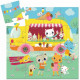 Tiny Puzzle Ice Cream Truck 16 pieces - Djeco - Puzzle
