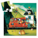 Tiny Puzzle The Fire Truck 16 pieces - Djeco - Puzzle