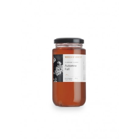 Raw Honey Wildflower 340g - Miels D'Anicet