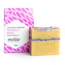 Handmade Soap Mélia Patchouli + Neroli oil - Miels D'Anicet - Soap