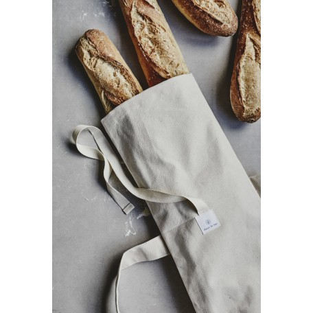 Reusable Bread Bag Baguette Size - Dans le sac - Your baguettes didn't ever seem so delicious!
