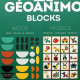 Ze Geoanimo Blocks - Djeco