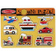 Sound Puzzle - Melissa & Doug - Transportation