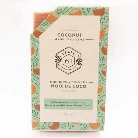 Natural Soaps Coconut - Crate 61