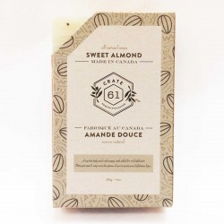 Natural Soaps Sweet Almond - Crate 61