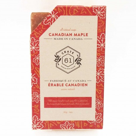 Natural Soaps Canadian Maple - Crate 61