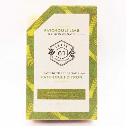 Natural Soaps Patchouli Lime - Crate 61