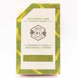 Savon Naturel Patchouli Citron - Crate 61 Crate 61