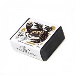 Soap Forest Fire Coal, black spruce and verbena Collection Les Trappeuses - Savonnerie des Diligences